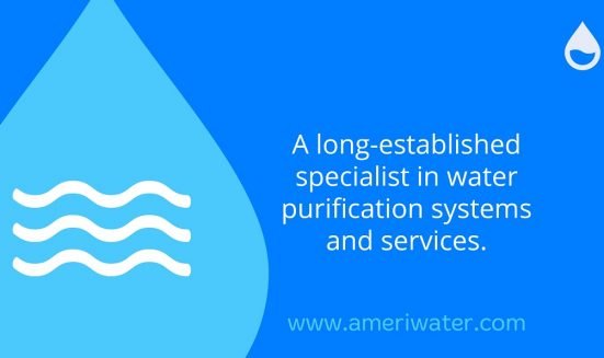 A fresh approach for AmeriWater Icon