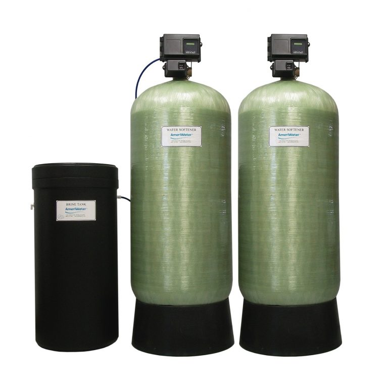 Commercial Dual Alternating Water Softeners – 26 up to 72 GPM