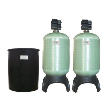 Commercial Dual Alternating Water Softeners – 40 up to 124 GPM Icon