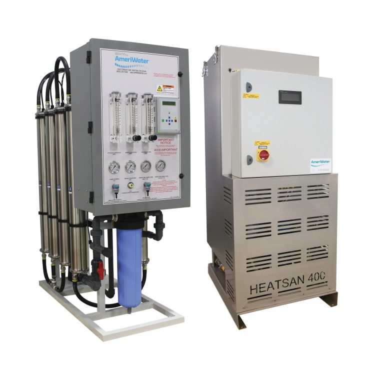 Heat Disinfect Distribution Loop System (MROZ/Heatsan)